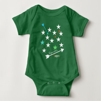Superstar Targets Stars Arrows Funky Baby Bodysuit