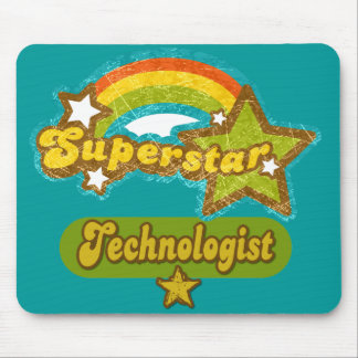 Superstar Technologist Mouse Pad