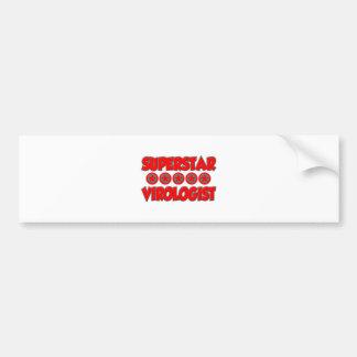 Superstar Virologist Bumper Sticker
