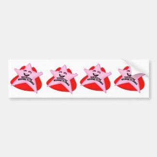 superstar wedding planner funny bumper sticker