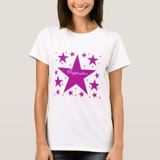 Superstar Women's Tee, Purple T-Shirt
