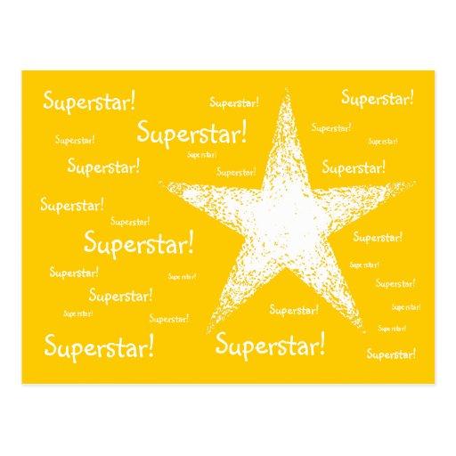 Superstar! | Yellow Postcards