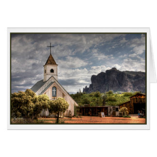 Superstition Chapel Greeting Card