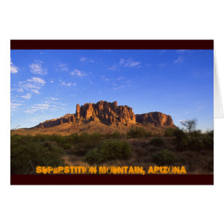 Superstition Mountain Arizona Card