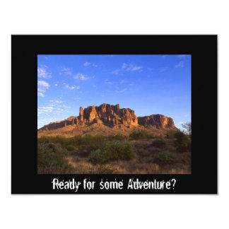 Superstition Mountain, Arizona Personalized Invitations