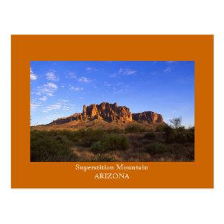 Superstition Mountain ARIZONA Post Card