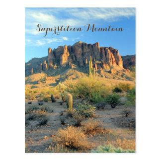 Superstition Mountain Arizona Postcard