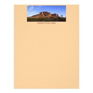 Superstition Mountain letterhead 21.5 Cm X 28 Cm Flyer