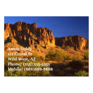 Superstition Mountain Pack Of Chubby Business Cards