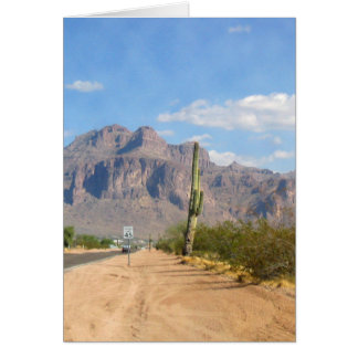 Superstition Mountain - Panoramic Cards