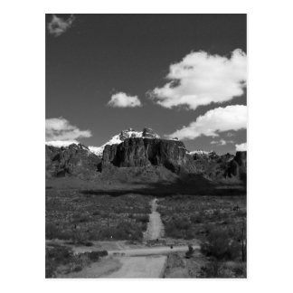Superstition Mountain Post Card