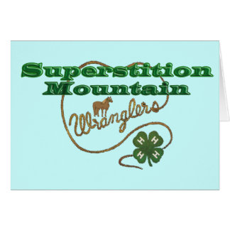Superstition Mountain Wranglers Card