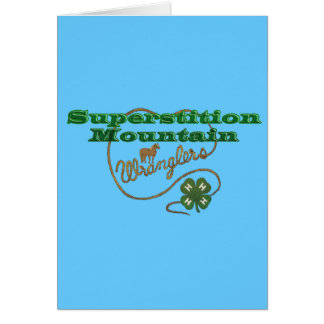 Superstition Mountain Wranglers Cards
