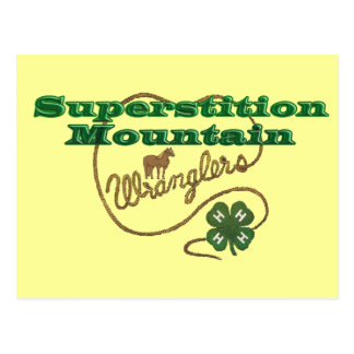 Superstition Mountain Wranglers Post Card