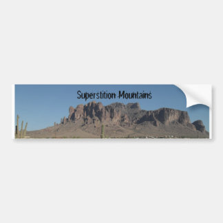 Superstition Mountains Bumper Stickers