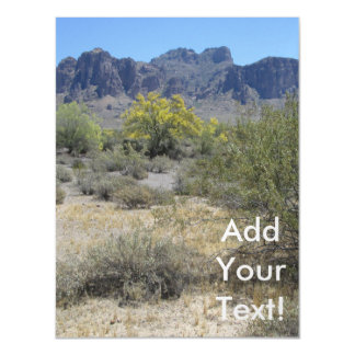 Superstition Mountains Magnetic Invitations