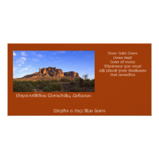 Superstition Mountains Photo Card