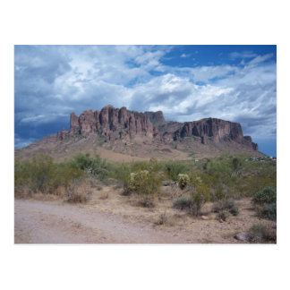 Superstition Mountains Post Card