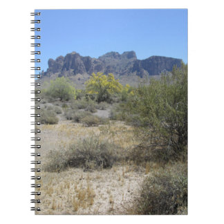 Superstition Mountains Spiral Notebook