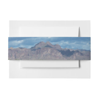 Superstition Mountains Invitation Belly Band