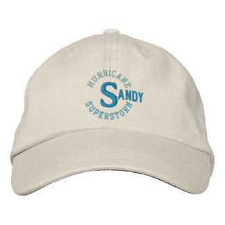 SUPERSTORM SANDY cap Embroidered Hats