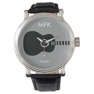 superstylish custom acoustic guitar watch