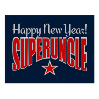SUPERUNCLE New Year postcard
