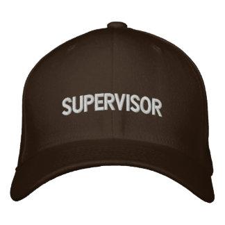 Supervisor Embroidered Hat