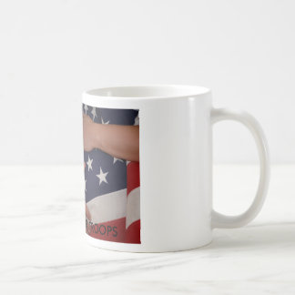 SUPOORT OUR TROOPS and Families Coffee Mugs