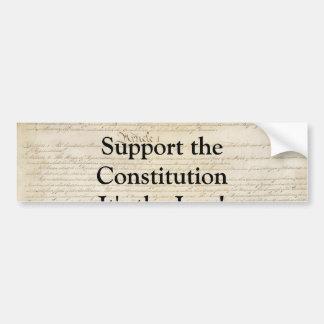 Supoprt the Constitution Bumper Sticker