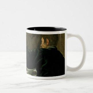 Supper at Emmaus, 1620 Two-Tone Mug