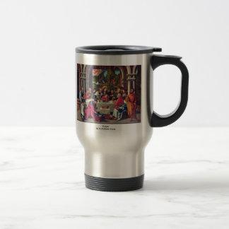 Supper By Schäufelein Hans Coffee Mug