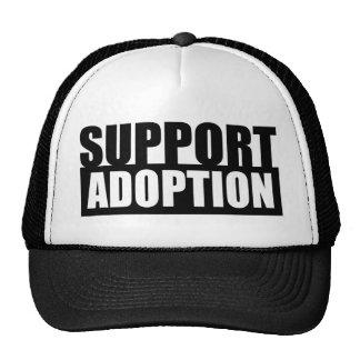 Support Adoption Mesh Hat