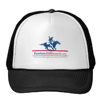 Support American Values With Patriotsbillboard.org Cap