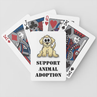 Support Animal Adoption Deck Of Cards