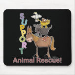 Support Animal Rescue Mouse Pads