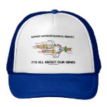 Support Anthropological Genetics About Our Genes Trucker Hats