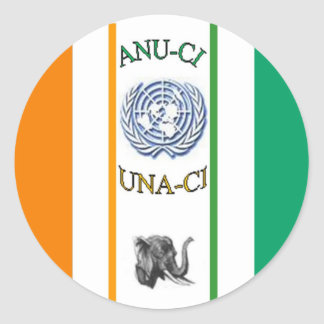 Support_Anuci Layers Classic Round Sticker