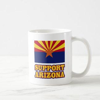 Support Arizona Basic White Mug