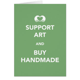 Support Art and Buy Handmade Card
