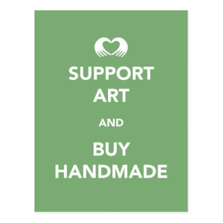 Support Art and Buy Handmade Postcard
