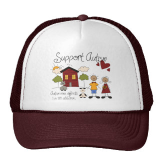 Support Autism - Autism Awareness Hat