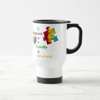 Support Autism Awareness Mug
