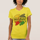Support Autism Awareness Puzzle Pieces Shirts
