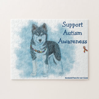 Support Autism Awareness Puzzles