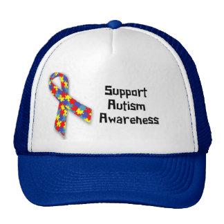 Support Autism Awareness Trucker Hat