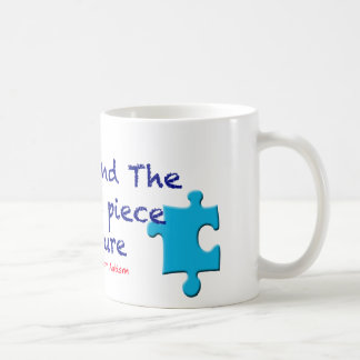 Support Autism Find a Cure Basic White Mug