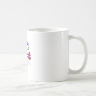 SUPPORT AUTISM COFFEE MUGS