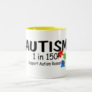 Support Autism Reachers Puzzle Pieces Coffee Mug