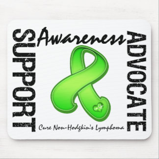 Support Awareness Advocate Non-Hodgkin's Lymphoma Mouse Pad